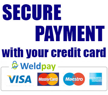 secure payment with credit card